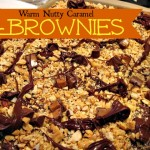 Recipe: Warm Nutty Caramel Brownies
