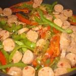 Chicken Sausage Grinder Rolls – Recipe
