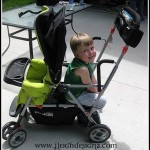 Joovy – 2010 Ultralight Caboose Tandem Stand-On Stroller Review!