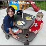 Little Tikes – Endless Adventures® Fold 'n Store Picnic Table Combo Pack Review!
