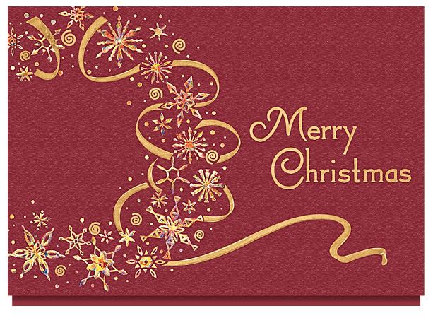 The Gallery Collection Christmas Cards Decore