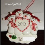 Personalized Family Christmas Ornaments- Review & Giveaway!