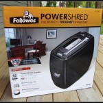 $130 Fellowes PS-12Cs 12-Sheet Cross-Cut Shredder Review & Giveaway! Keep Security In Mind!