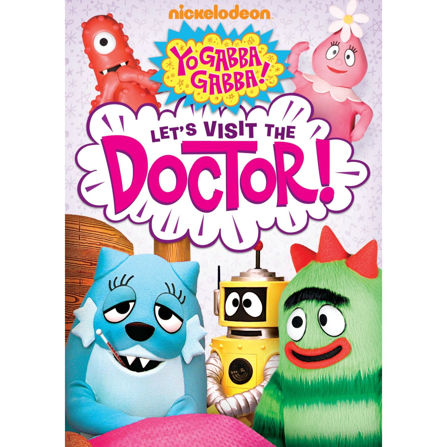 Yo Gabba Gabba Let S Visit The Doctor Dvd Momspotted