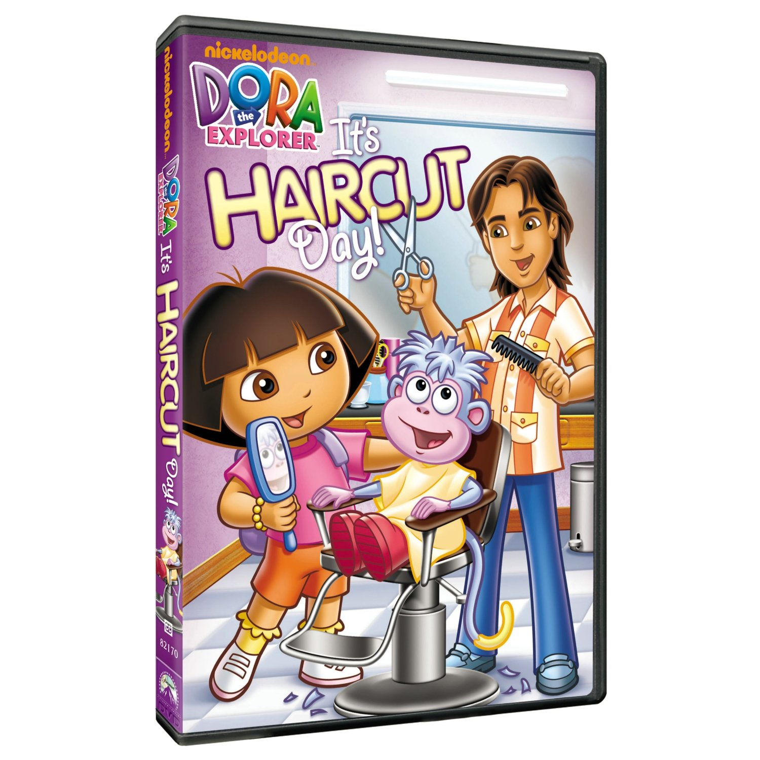 Dora the Explorer Its Haircut Day DVD Available Today MomSpotted