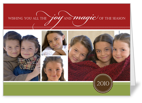 if christmas isnt your thing and hanukkah is then they have beautiful hanukkah cards too - Shutterfly Holiday Cards