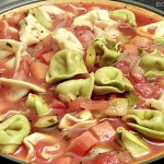 Fast & Easy Tortellini Vegetable Soup #Recipe