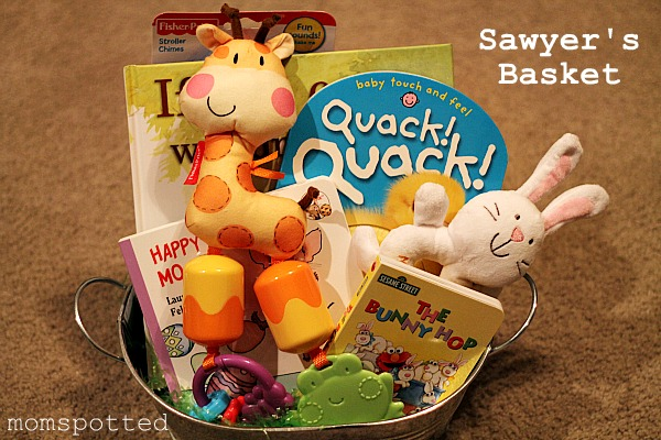 Creative easter basket ideas for babies to teens housewives of babies loved to be read to so i love all the different books negle Images