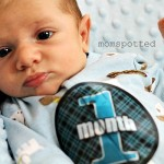 One Month Old {Sawyer James}