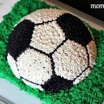 My Soccer Ball Cake!