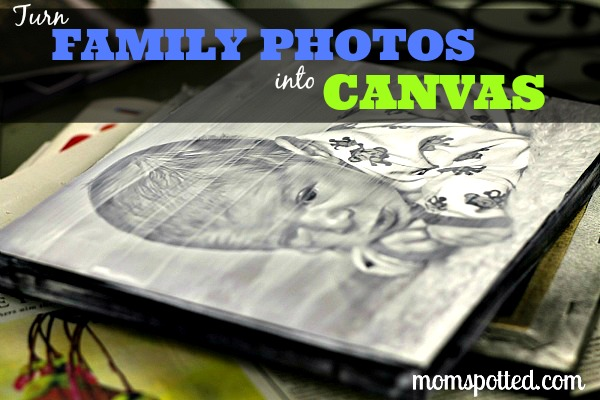 Turning Photos into Canvas Prints! Modge Podge #Tutorial #MomSpotted