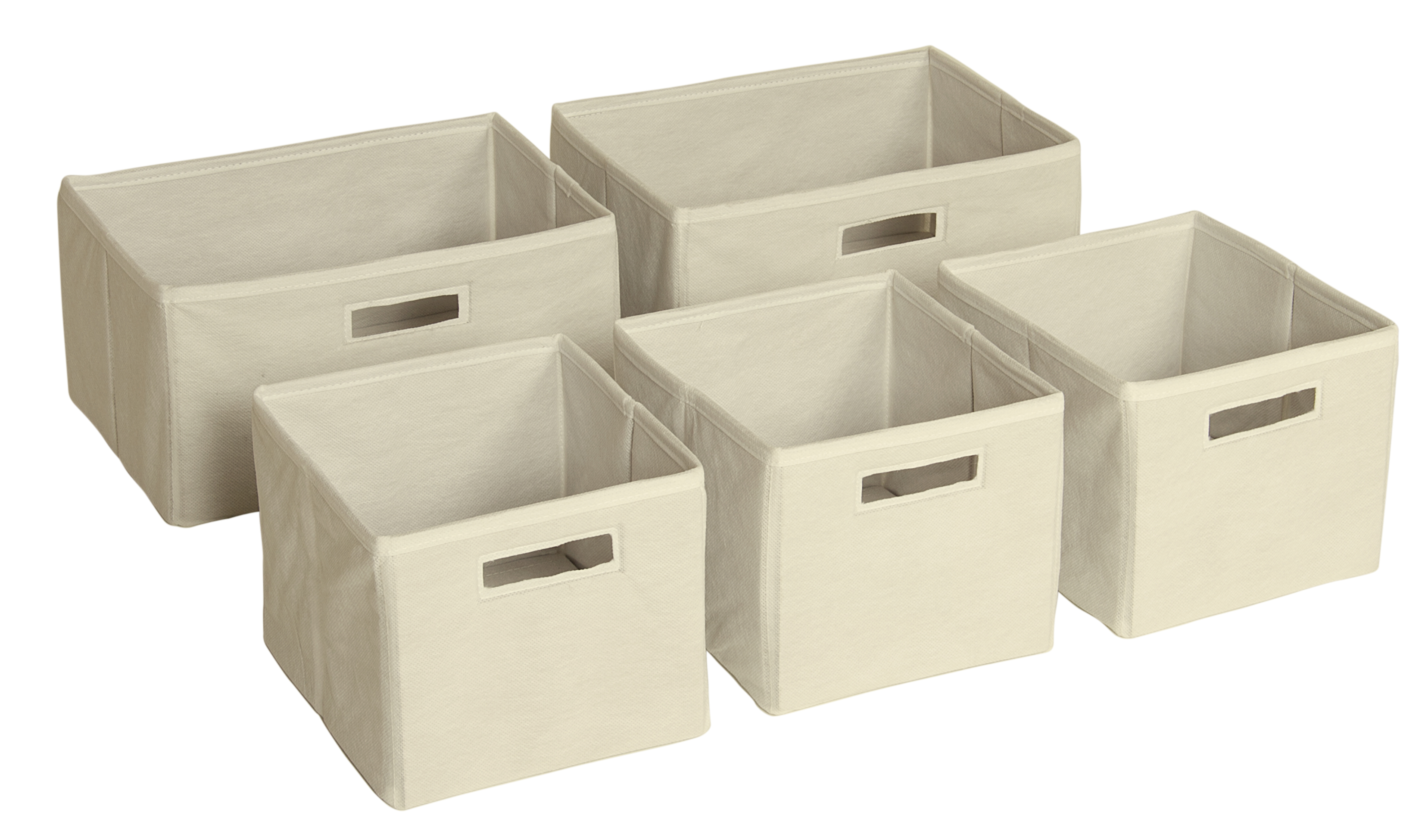 I Love These Tan Storage Bins ...