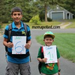 And then there was one… {First Day Of School Pics}