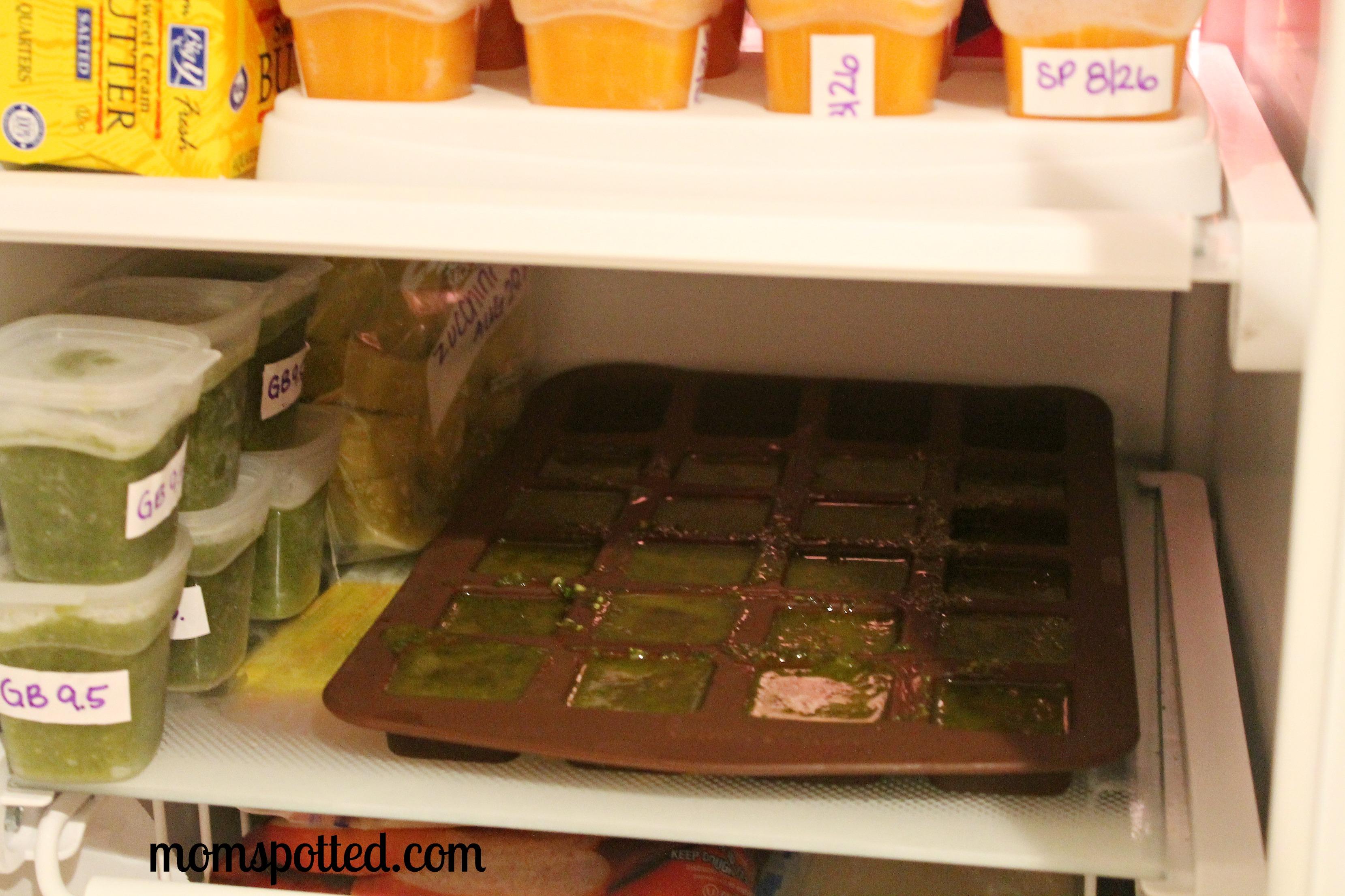 Garden To Kitchen Garden To Kitchen Fresh Basil Cubes With Garlic Oil Recipe