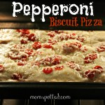Pepperoni Biscuit Pizza {Recipe} #hormelfamily