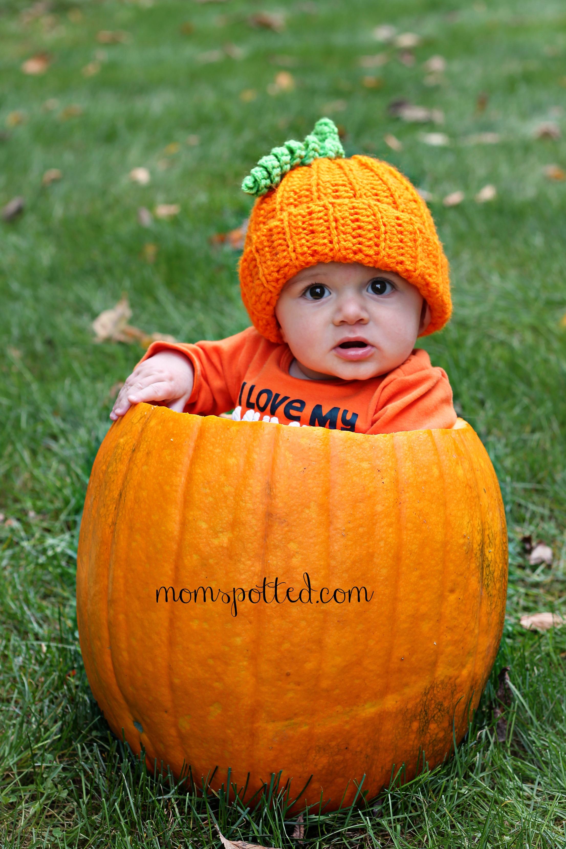 Baby Pumpkin Adorable Photography