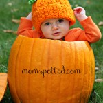 Baby + Pumpkin = Adorable Baby Photography