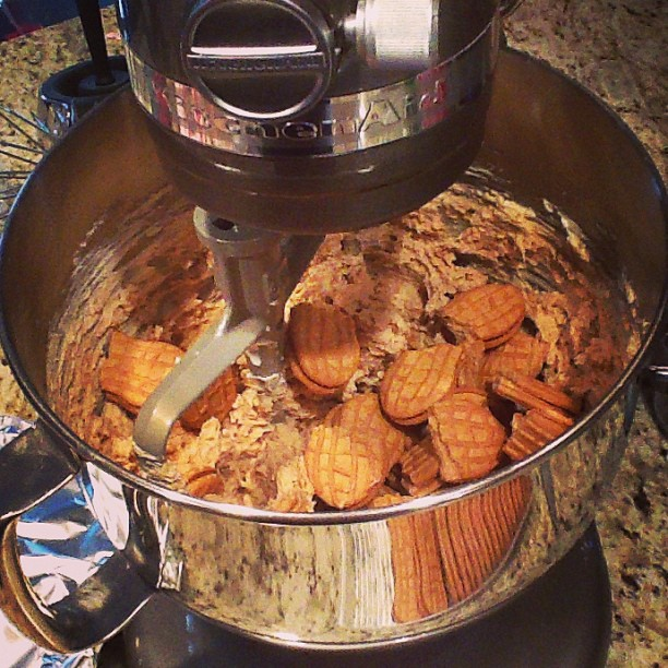 Nutterbutter balls kitchenaid mixer cookies recipe #momspotted