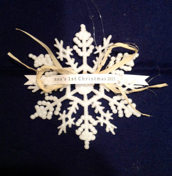 Baby's 1st Christmas Ornaments {Help Me Decide} - MomSpotted