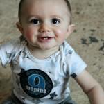 Nine Months Old {Sawyer James}