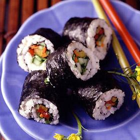Oriental Vegetable Sushi