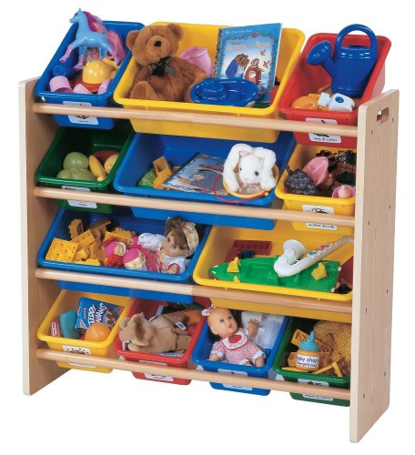 Tot Tutors Toy Organizer Storage Bins