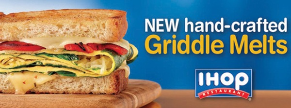 IHOP Griddle Melts