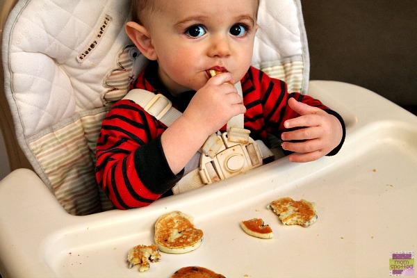 Aunt Jemima Lil' Griddles #momspotted blueberry Sawyer