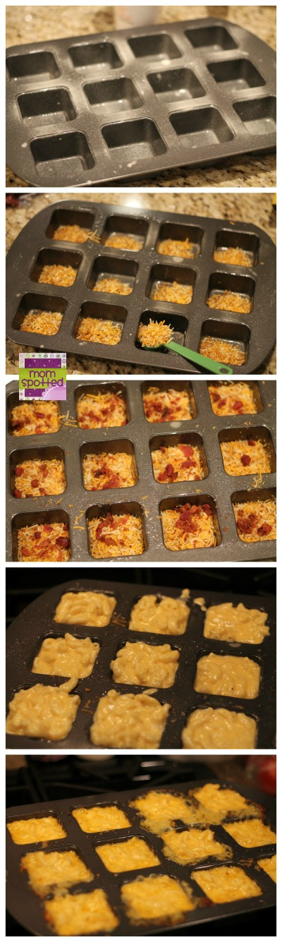 Loaded Mac & Cheese Cups with Cheddar & Bacon Kraft Fresh Take #KraftFreshTake