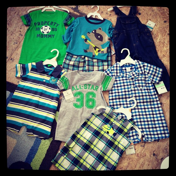 My awesome score for $40 from Carters #momspotted