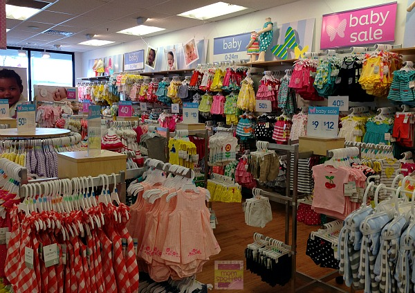 Carters store spring girls selection 2013