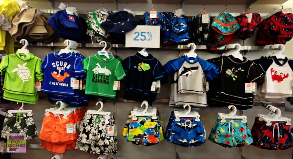 carters store boys swimming swim suit selection spring summer 2013 #momspotted