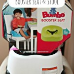 Bumbo Booster Seat & Step Stool {Review & Giveaway}