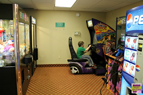 Hilton Mystic Hotel Game Room