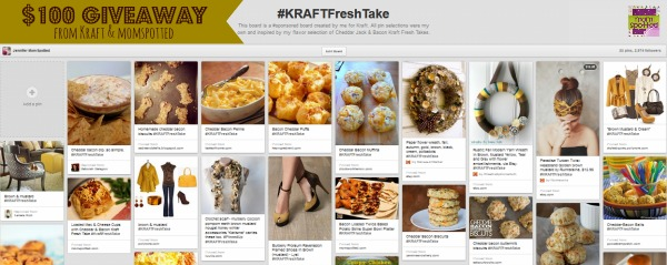 #KRAFTFreshTake Pinterest Board from Mom Spotted