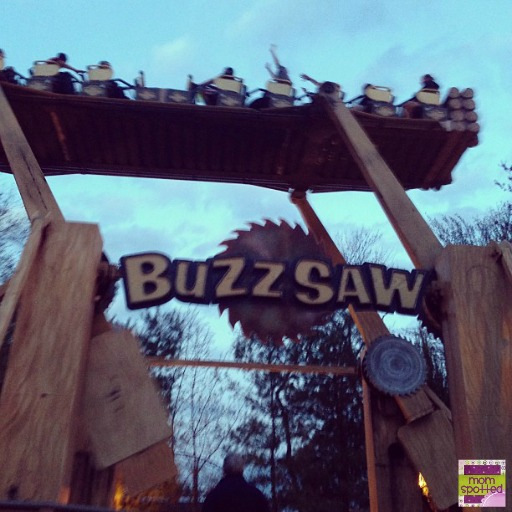 Six Flags New England buzzsaw