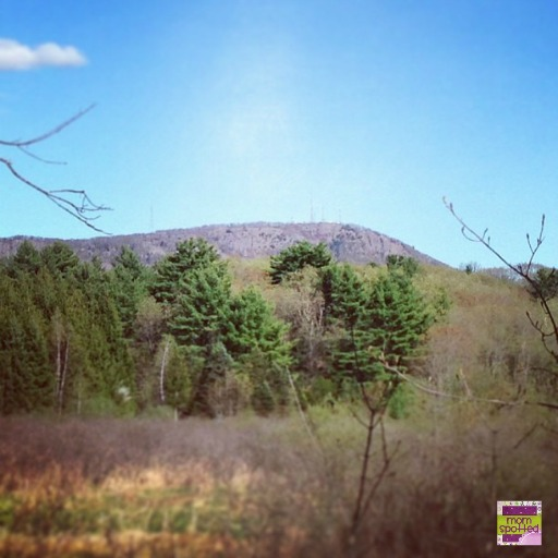 The Easthampton Mountain The Manhan Bike Trail Massachusetts