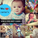 "Carter's ""100,000 Ways to Celebrate Moms"" Sweepstakes with a $50 Gift Card Giveaway!"