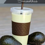 Banana & Avocado Smoothie Recipe #AmazingAvoCinco