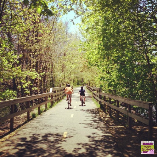 The Manhan Bike Trail Massachusetts New England