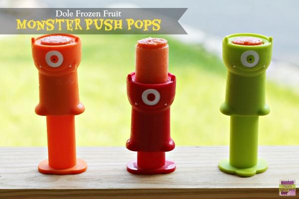Dole Frozen Fruit Monster Push Pops 1