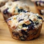 Blueberry Lemon Streusel Muffins 2