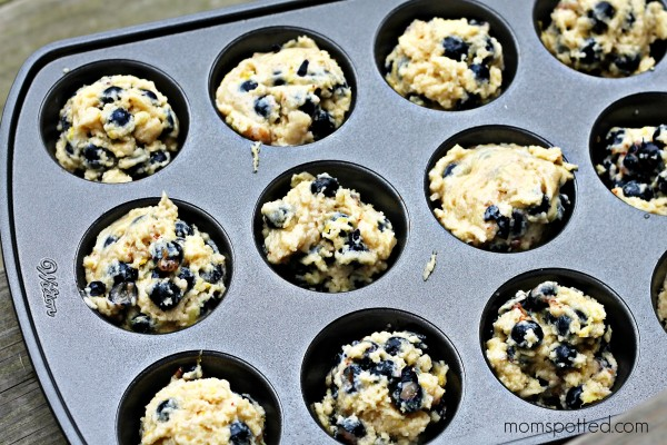 Blueberry Lemon Streusel Muffins 5