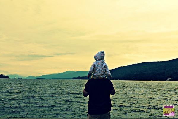 Lake George NY Zutano Daddy Sawyer