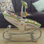 Tiny Love Rocker Napper Review & On the Go My Nature Pals Stroll Toy Bar {Giveaway}