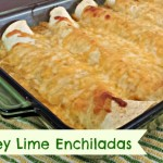 Honey Lime Enchiladas #Recipe
