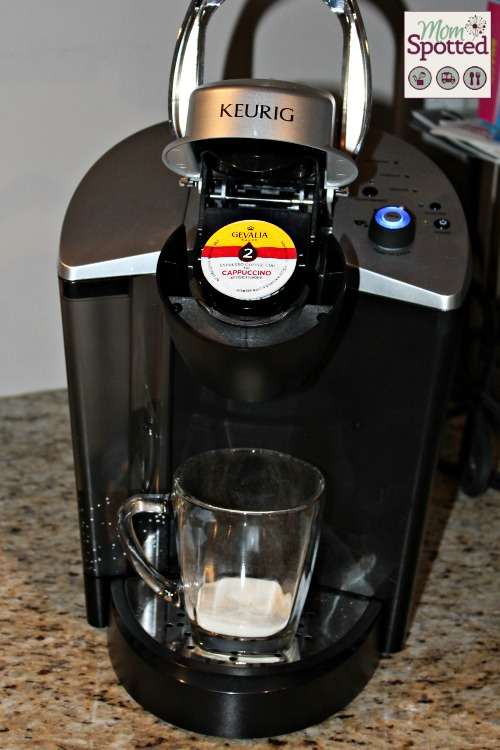 Gevalia Cafe-Style Coffee Now in K-Cups for your Keurig! {K-Cup Giveaway} #FoamAtHome - MomSpotted