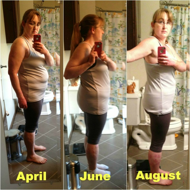 My Weightloss Journey #momspotted side view