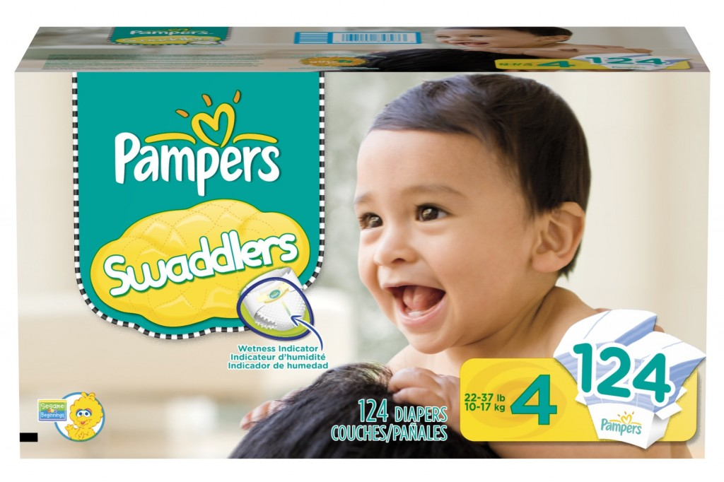 Pampers Size 4 Swaddlers