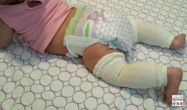 Girl Wet Luvs Diapers